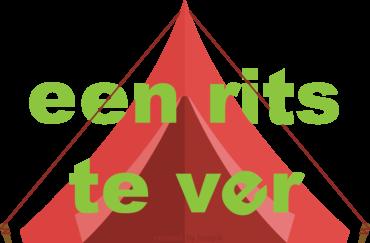 Logo een rits te ver